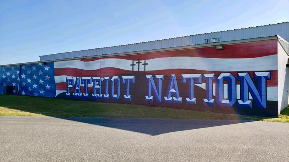Patriot Nation Sign